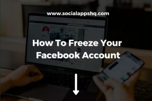 How To Freeze Your Facebook Account
