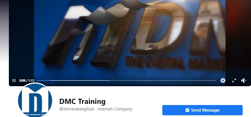 Facebook Video Cover Example