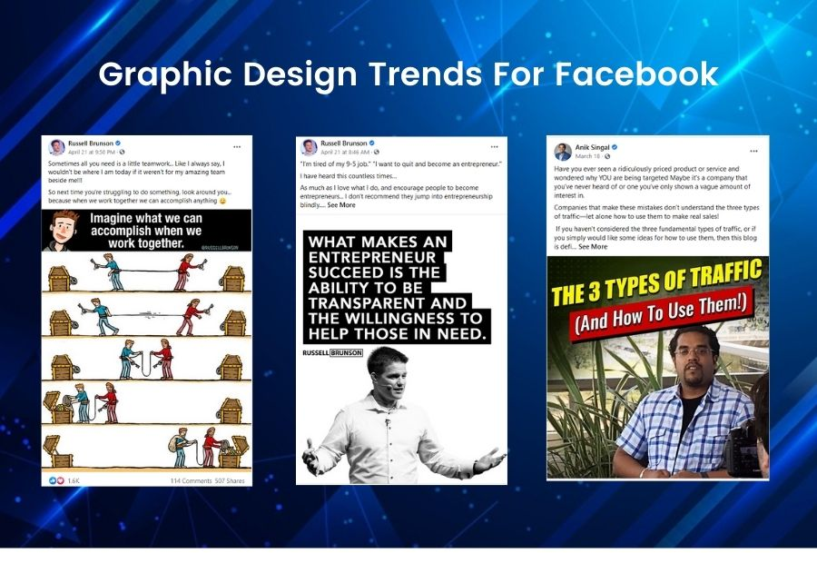 Graphic Design Trends For Facebook Featured Image