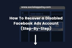 How To Recover Disabled Facebook Ads Account