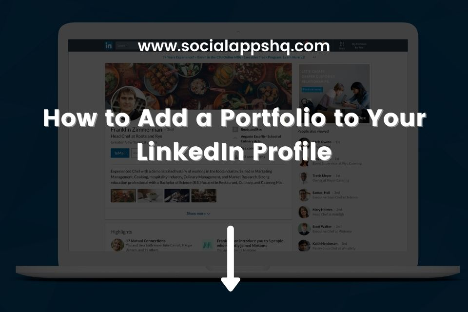 How to Add a Portfolio to Your LinkedIn Profile