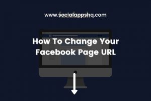 How To Change Facebook Page URL Featured Image