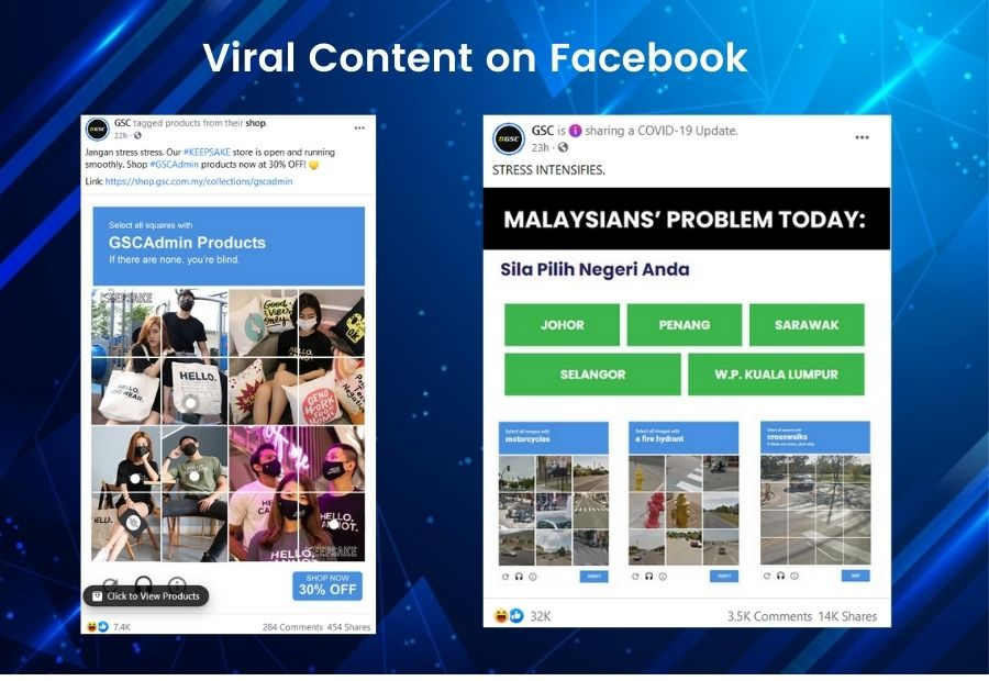 Viral Content on Facebook
