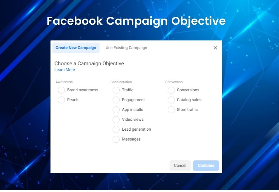 Facebook Campaign Objective